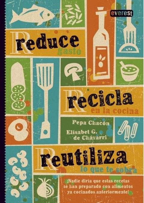 reduce, recicla libro portada