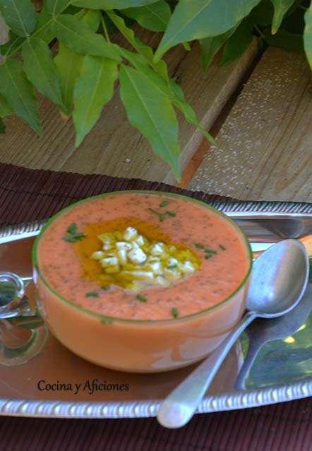 sopa fria de tomate ok