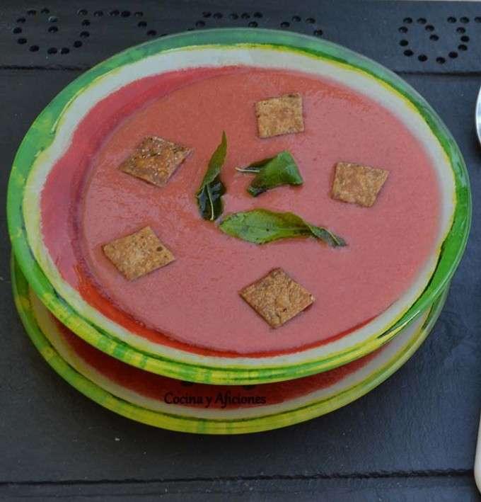 gazpacho de cerezas 2