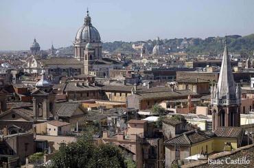 Nos vamos a Roma, un paseo por el Trastevere.