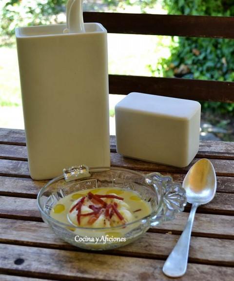 crema de calabacin huevo poche 2
