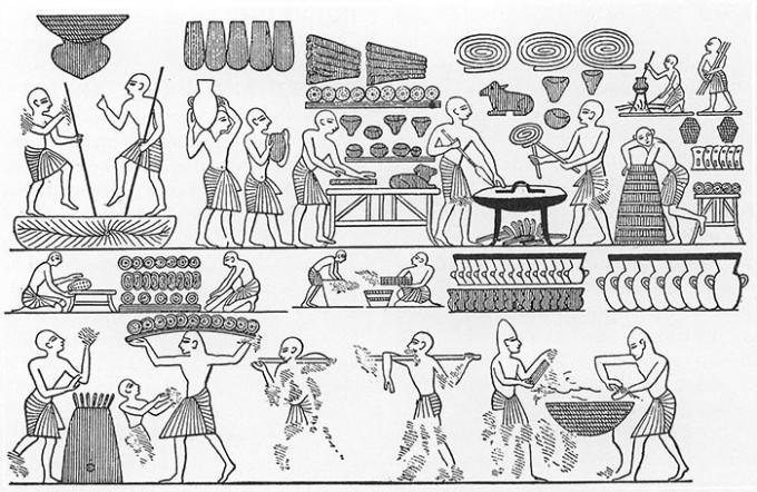Escenas-de-elaboracion-de-pan-en-la-Tumba-de-Ramses-III