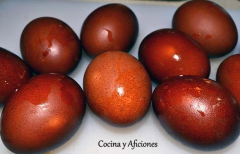 huevos haminados