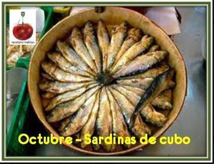 sardinas de cubo