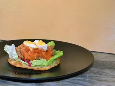 """Enchiladas guatemaltecas, como las de abuela del Chef Luis Carrillo de Izabal (Guatemala), para """"Cocinas del Mundo"""", receta paso a paso."""