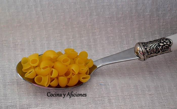 Pasta: lumachine.