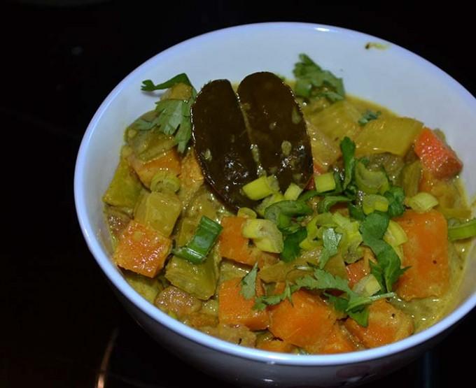 curry verde verduras 2