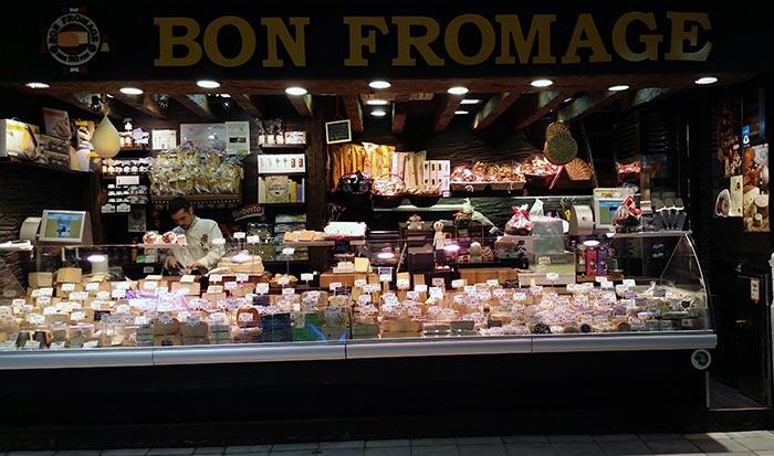 Bon fromage, el paraiso de los amantes del queso.