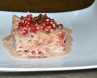 Ensalada agridulce de remolacha y atún, receta paso a paso.