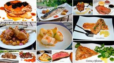 Doce platos principales de lujo, ¡NO TE LOS PUEDES PERDER!!!