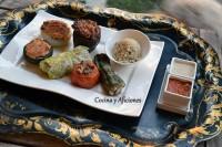 Verduras rellenas (Legumbres yakapres) al estilo sefardí, receta paso a paso.