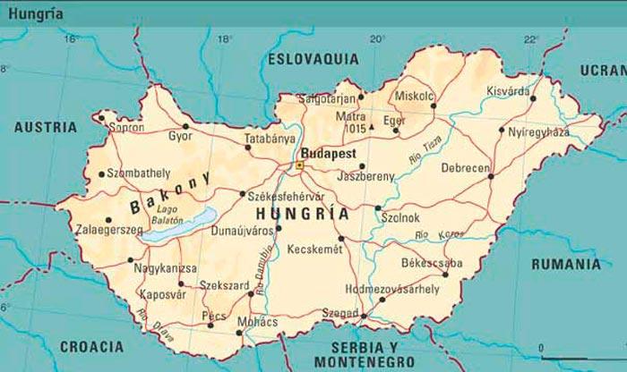 Mapa-fisico-de-Hungria