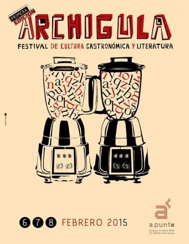 Archigula, el festival de la gastronomía y de la literatura.