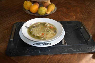 Sopa a la Újházi  y las recetas hungaras de «Cocinas del Mundo»