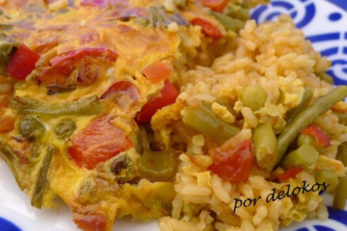arroz-de-pimientos-y-judc3adas-verdes-con-costra