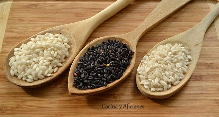 arroz arbóreo - arroz venere- arroz carnalori
