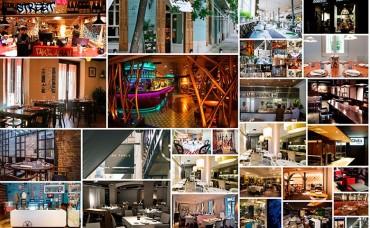 25 restaurantes de moda para comer bien en Madrid.