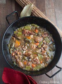 Cordero a lo pastor, la receta antigua de Albalate del Arzobispo, paso a paso.