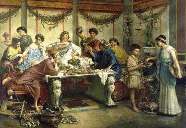 El origen y evolución de la comida: Roma, apuntes.
