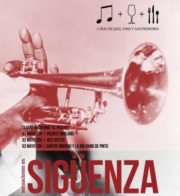 El jazz, el vino y la gastronomía de la mano en «Sensaciones en Sigüenza»
