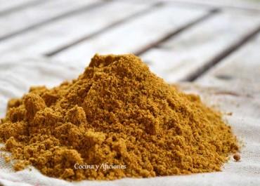 Ras al hanout la mezcla de especias de Marruecos, apuntes
