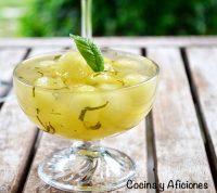 Bolas de melón con limonada, receta paso a paso y un truco.