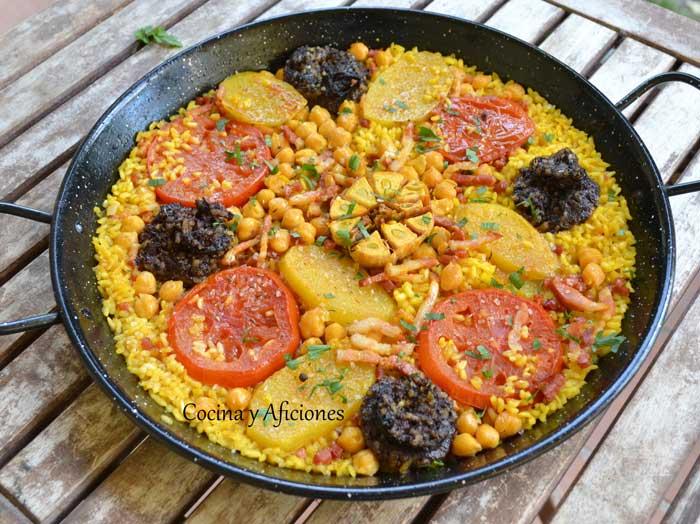 arroz-con-morcilla