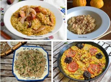 Todas las recetas de arroz de Cocina y Aficiones.