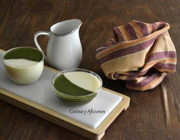 Vichyssoise y crema de espinacas,  la armonía del verde y el blanco. Receta paso a paso.