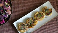 Patatas chafadas con mantequilla de hierbas, receta paso a paso