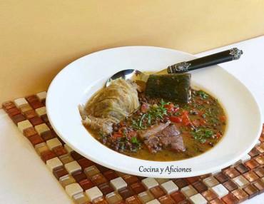 Lentejas del Puig con verduras y mas, receta paso a paso.