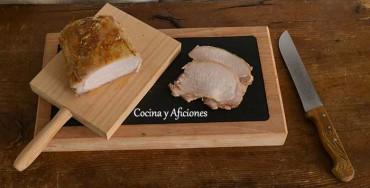 Técnicas de cocina: Cocinar a la sal en el horno, lomo de cerdo a la sal