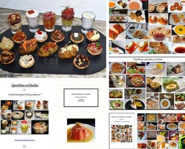 """Recetarios de """"Cocina y Aficiones"""" listos para descargar y como imprimir una receta o un post."""