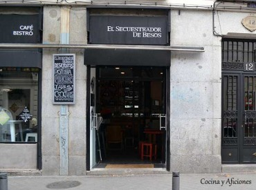 El secuestrador de besos, parada obligada en el centro de Madrid.