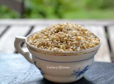 El bulgur, un cereal muy sano. Apuntes.