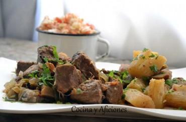 Vaho nicaraguense, receta paso a paso  para Cocinas del Mundo.