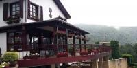 terraza de la venta de Ulzama