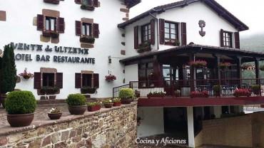 La venta de Ulzama, descanso de viajeros y gourmets.