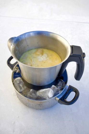 Técnica de cocina: Baño María inverso
