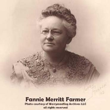 Fannie Merritt Farmer, la creadora de las medidas estandarizadas.