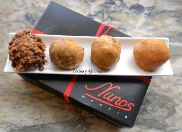 Pastelería Nunos el paraíso de la gastronomía dulce, apuntes.
