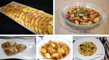 """Nuevo taller: Cocina con setas recetas clásicas y modernas, primera parte """" aperitivos y  entrantes"""""""