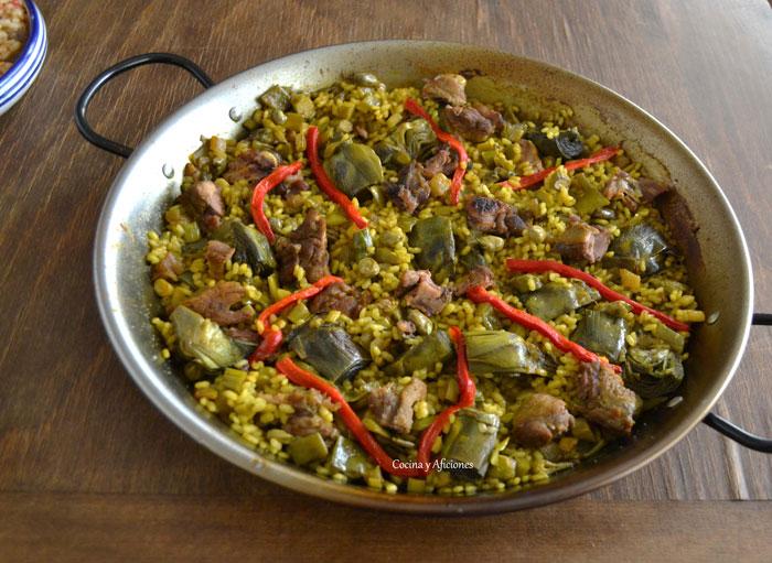 arroz-con-pato-y-alcachofas