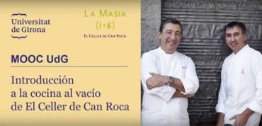 Curso de cocina al vació del Celler de Can Roca (gratuito)