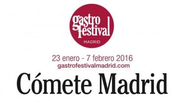 Disfruta y cómete Madrid en el Gastrofestival, ¡no te lo pierdas!