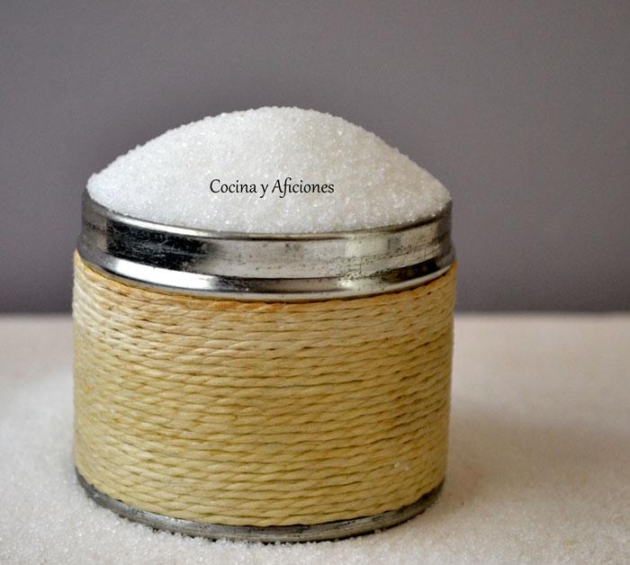 Azucar común (azucar blanco refinado)