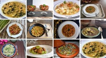 Entrantes o primeros de lujo para la  cuaresma (sin carne), recetas especiales
