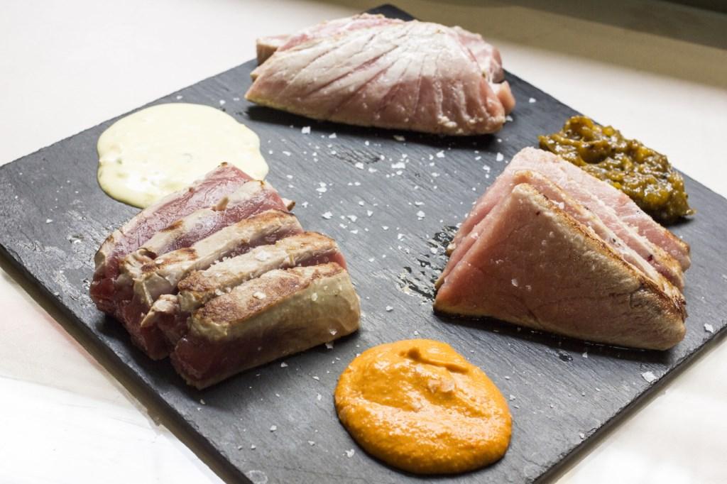 Parrillada degustación de atún - Ponzano