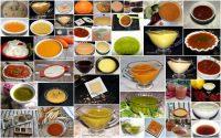 """Indice de las """"55"""" recetas de salsas de Cocina y Aficiones."""