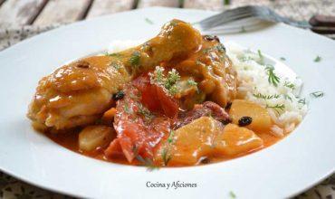 Curry rojo thai de la chef  Nooror Somany Steppe, receta paso a paso para Cocinas del Mundo